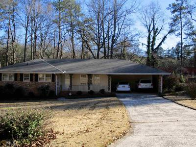 Austell Single Family Home Under Contract: 1815 Gherry