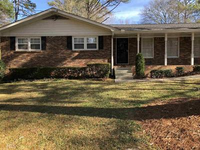 Lithonia Single Family Home For Sale: 6010 Shadow Rock