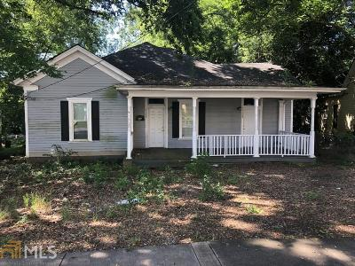 Griffin Single Family Home New: 408 Meriwether St