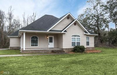 Brooklet Single Family Home For Sale: 17035 Highway 119 Connector