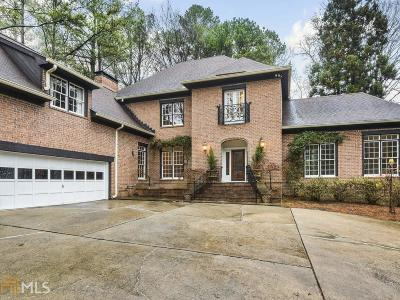 Roswell, Sandy Springs Single Family Home For Sale: 6105 River Chase Cir
