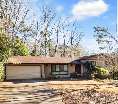 Lilburn Single Family Home Under Contract: 5032 Lakeview Ct