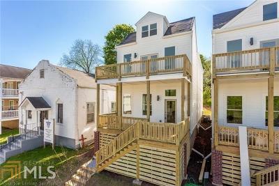 Atlanta Single Family Home For Sale: 755 Martin St