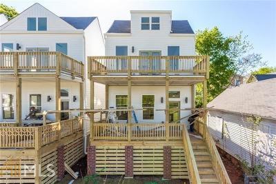 Atlanta Single Family Home For Sale: 759 Martin St