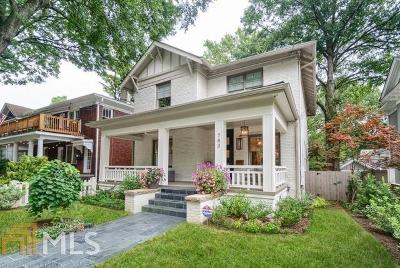 Midtown Single Family Home Under Contract: 743 Argonne Ave