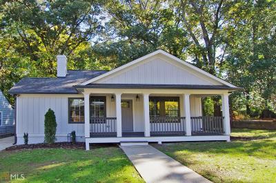 Atlanta Single Family Home For Sale: 326 Lamon Ave