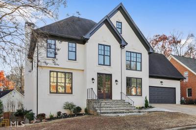 Decatur Single Family Home For Sale: 2625 Danforth Ln
