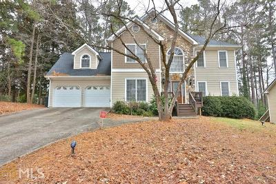 Acworth Single Family Home For Sale: 670 Ashley Forest Dr