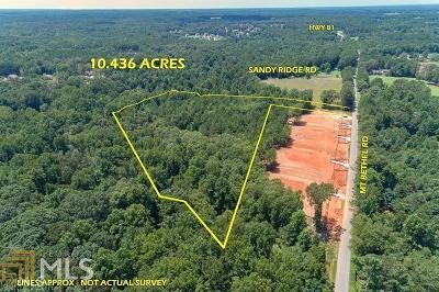 McDonough Residential Lots & Land New: Mt Bethel Rd