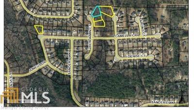 McDonough Residential Lots & Land New: 620 Benjamin Cir