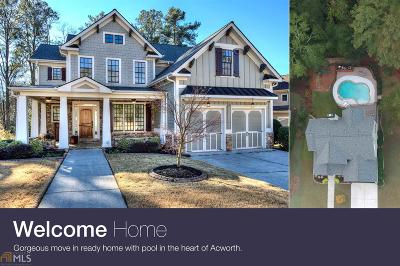 Acworth Single Family Home Under Contract: 5111 Acworth Enclave Dr