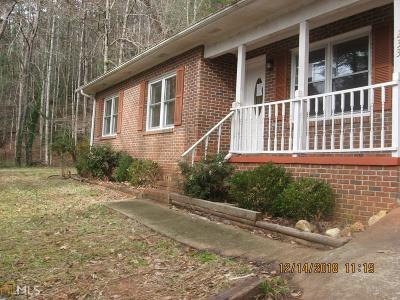 Rabun County Single Family Home Under Contract: 233 Orme St