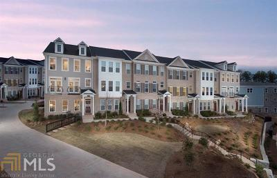 Alpharetta Condo/Townhouse For Sale: 643 Hanlon Way