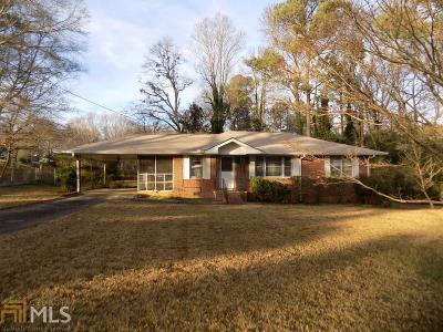 Douglas County Single Family Home Under Contract: 3867 Spring St