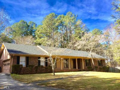 Fayetteville Single Family Home Under Contract: 364 Highway 279