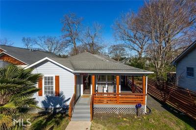Atlanta Single Family Home Under Contract: 128 Flat Shoals Ave