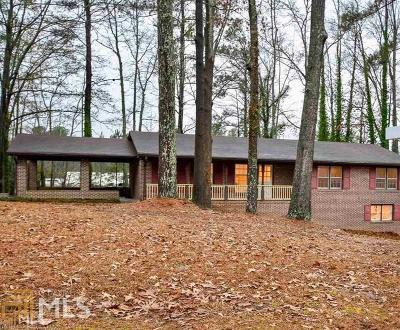 Fayetteville Single Family Home Under Contract: 105 Hickory