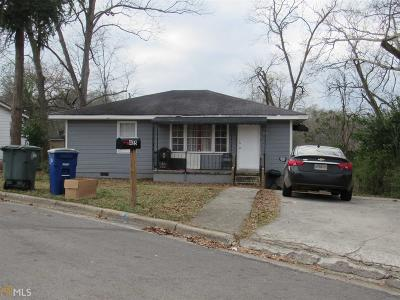 Griffin Single Family Home Under Contract: 435 N 4th St