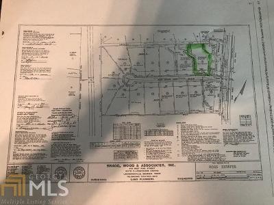 Snellville Residential Lots & Land For Sale: 4415 Ross Estates Ct