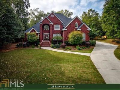 Winder Single Family Home Under Contract: 28 St Ives Cir