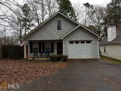 Newnan Single Family Home Under Contract: 111 Greison Trl