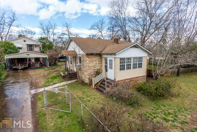 Griffin Single Family Home Under Contract: 185 Grady St