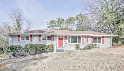 Smyrna Single Family Home For Sale: 3457 Landrum Dr
