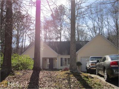 Hiram Single Family Home Under Contract: 35 Pooles Bend Way