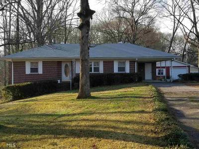 Griffin Single Family Home Under Contract: 402 Vineyard Rd