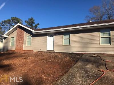 Rex Single Family Home New: 2885 Woodfield Dr
