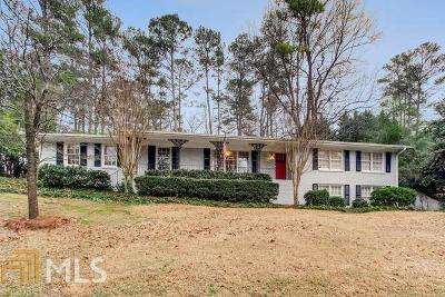 Atlanta Single Family Home Under Contract: 5805 Hilderbrand Dr