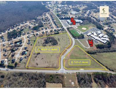 Jefferson Residential Lots & Land For Sale: Gum Springs Church Rd And Hwy 124 #2