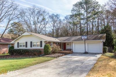 Decatur Single Family Home New: 2877 Concord Dr