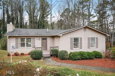 Acworth Single Family Home Under Contract: 804 Moonlit Ln