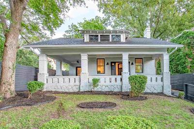 Old Fourth Ward Single Family Home Under Contract: 563 Parkway