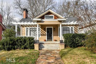 Virginia Highland Single Family Home Under Contract: 638 Cooledge Ave