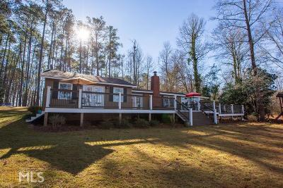 Haddock, Milledgeville, Sparta Single Family Home New: 124 NW Meriwether Point Rd