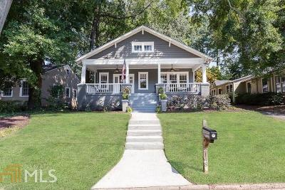Peachtree Hills Single Family Home Under Contract: 2148 Fairhaven Cir