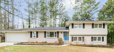 Decatur Single Family Home Under Contract: 1530 Diamondhead Dr