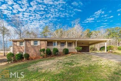 Douglasville Single Family Home Under Contract: 4038 Westview