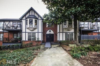 Sandy Springs Condo/Townhouse For Sale: 6851 Roswell Rd #E9