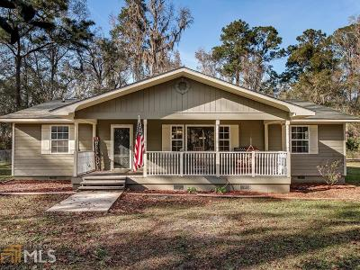 Woodbine Single Family Home Under Contract: 11977 Ga Hwy 110