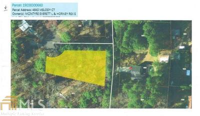 Powder Springs Residential Lots & Land For Sale: 4643 Melody Ct