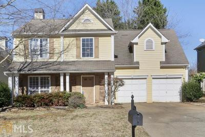 Kennesaw Single Family Home Under Contract: 2996 Bancroft Glen