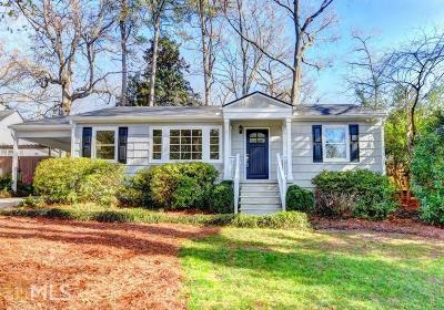Brookhaven Single Family Home Under Contract: 3035 Skyland Dr