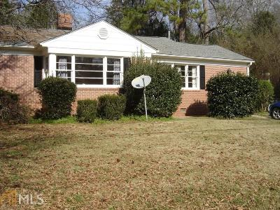 Milledgeville Single Family Home New: 410 Baldwin Ave