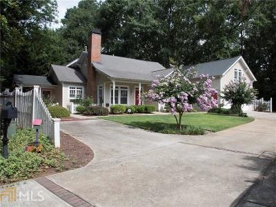 Historic Marietta Single Family Home Under Contract: 247 Chicopee Dr