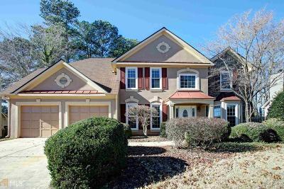 Alpharetta Single Family Home Under Contract: 11800 Windbrooke Way