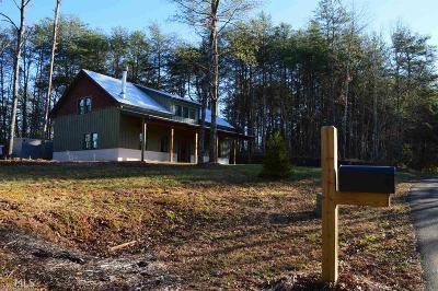 Fannin County Single Family Home For Sale: 290 Hidden Valley