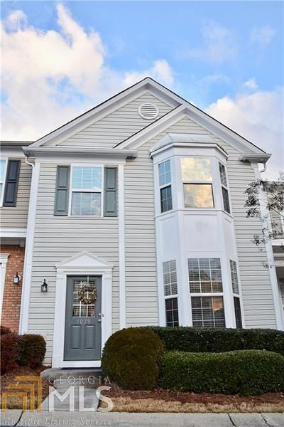 Alpharetta Condo/Townhouse Under Contract: 1079 Prestwyck Ct